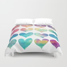 A Colorful Kind Of Love  Duvet Cover