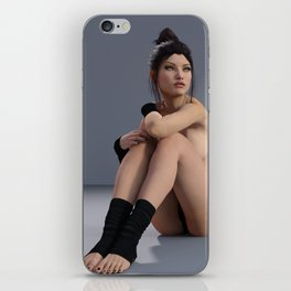 Topless Dancer - Pin Up - Balarina - ZG 3D iPhone Skin