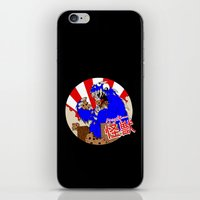 kaiju iPhone & iPod Skins featuring Kookie Kaiju by Joel Jackson