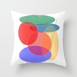 Abstract #27 Throw Pillow