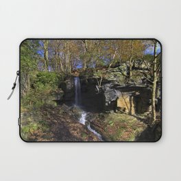 Waterfall at Lumsdale Laptop Sleeve