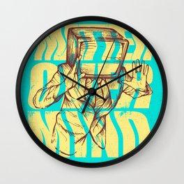 Matter Over Mind Wall Clock