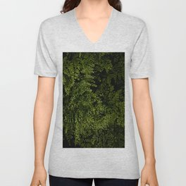 Small leaves Unisex V-Neck