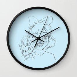 Kiki's Delivery Service - Fan Art Wall Clock