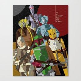Bounty Hunters Canvas Print