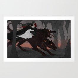 Rulers of the Underworld Art Print