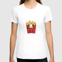 potato T-shirts featuring potato chips by Raimondo Tafuri