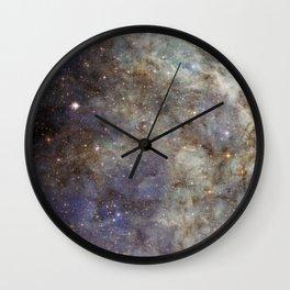 Tarantula Nebula 3 Wall Clock