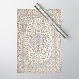 Bohemian Farmhouse Traditional Moroccan Art Style Texture Wrapping Paper