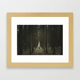 The Woods of St Olof 2 Framed Art Print