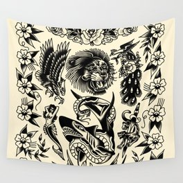 Purely picture machine Wall Tapestry