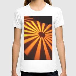 Orange Lines at the ground T-shirt