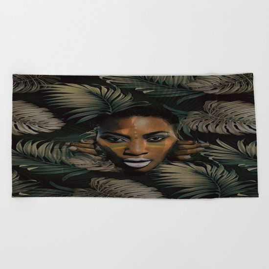 In the jungle Beach Towel