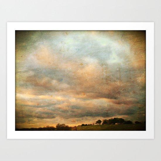 Landscape #4 Art Print