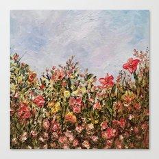 The Coral Garden Canvas Print