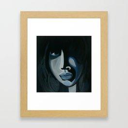In Shadows Framed Art Print