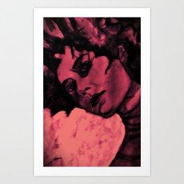 Marble Marleen Art Print