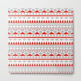 stripes pattern Metal Print