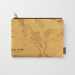 Map Of Pearl Harbor 1873 Carry-All Pouch