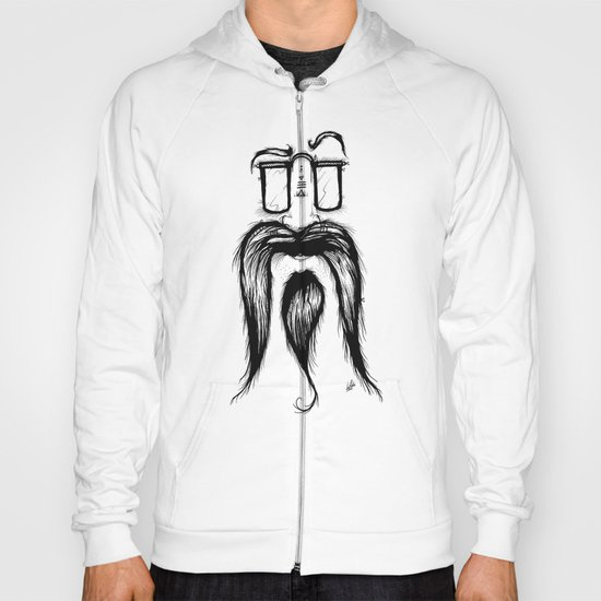 Blackie Beardy Face Hoody