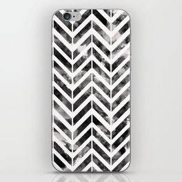 Brush Chevron iPhone Skin
