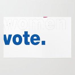 Nasty Women Vote Tshirt Rug