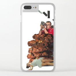 The Way the Cookie Crumbles Clear iPhone Case