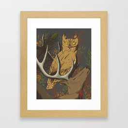 STRIX Framed Art Print