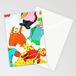 Paper Clothes Stationery Cards
