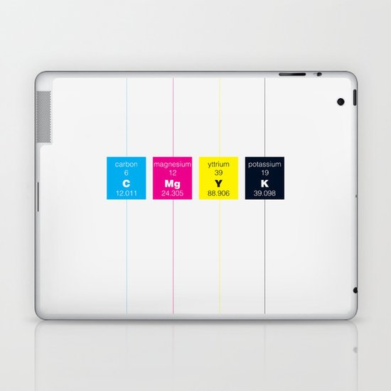 The Elements of Color Laptop & iPad Skin