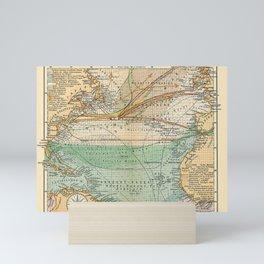 See Atlas 1906 - German Sea Atlas - North Atlantic: New York, Southampton, Lisbon, Rio de Janeiro Mini Art Print