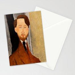 """Amedeo Modigliani """"Portrait of Léopold Zborowski"""" Stationery Cards"""