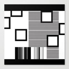 Reasonably Square Canvas Print