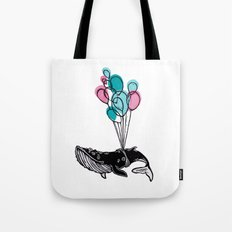 Balloons Whale II Tote Bag