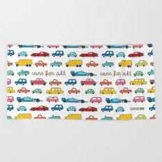 Cars for all Beach Towel