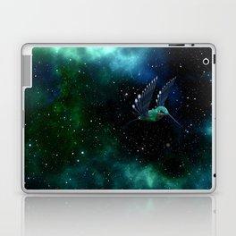 Space Hummingbird Laptop & iPad Skin