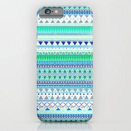 EMERALD CHENOA PATTERN iPhone Case