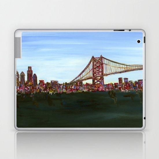 Ben Franklin Bridge Laptop & iPad Skin
