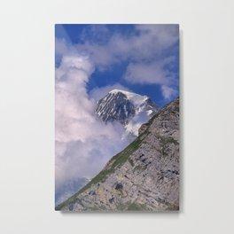 Monch. 4.107 meters. Alps. Switzerland Metal Print