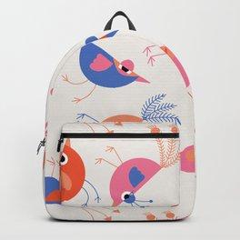 Geometric Birdies 2 Backpack