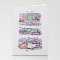 golf Stationery Cards featuring Golf Buddies by Jacques Maes