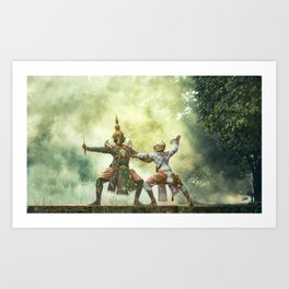 Actor Indian sport Theater Art Print