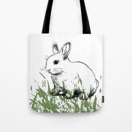 Cute bunny kids decor Tote Bag