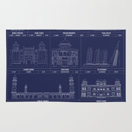 The Architecture of Pakistan Rug