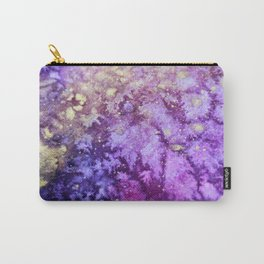Touch of Gold_Violet Carry-All Pouch