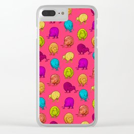 Hungry Kiwis – Juicy Palette Clear iPhone Case