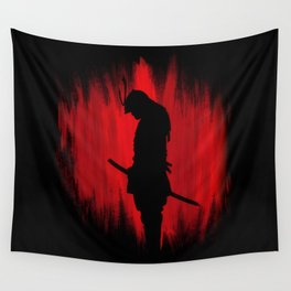 The way of the samurai warrior Wall Tapestry