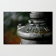 Open Canvas Print