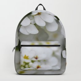 Pretty in White Backpack
