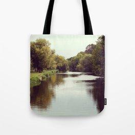 Vintage riverside Tote Bag